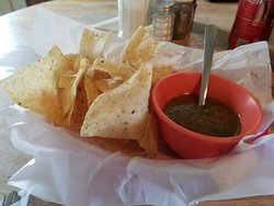 Yummy chips and salsa