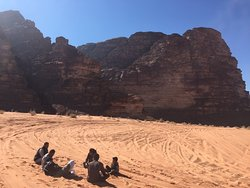 Beauty of life in Wadi Rum