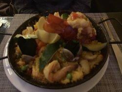 Romantic Cuban Café, great food and drink