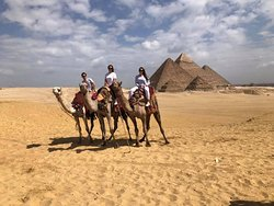 The best tour guide in Cairo!