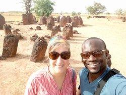 wassu Stone circle in Gambia