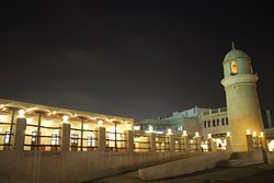 The Souk by night, local mosque