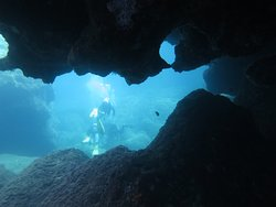 One of the diving spots we visited.