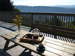 Drovers Lodge - Coffee on the Deck
