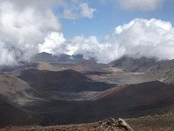 Un petit Hike au cratère de Haleakala...c magnifique!
