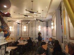 """La salle du """"Bar des Oiseaux"""""""
