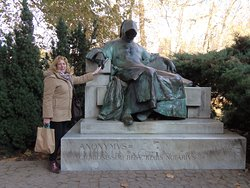 Anonymus Szobor (Anonymous' Statue)-Budapest, Hungary