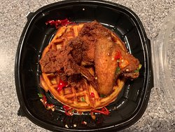 Fried Chicken + Waffle - Southern Kin Restaurant - Somerville, MA
