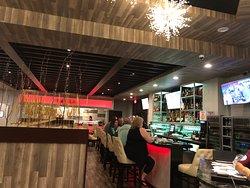 Full bar!! Wine, Sake, Beer, Whisky, Martini, Cocktails.