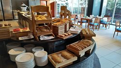 Oasis restaurant breakfast buffet, lovely relaxing and nice