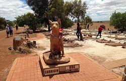 """Making the Journey from Perth to visit the """"Wave Rock"""" formation, we came across this unusual cemetery in Corrigin and stopped off for a closer look."""