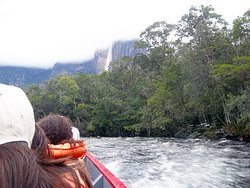On the way to Angel Falls