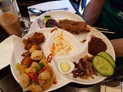 Nasi Lemak Platter
