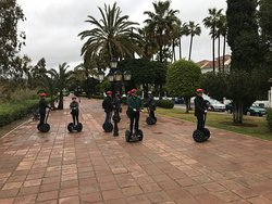 If is rains don´t worry yuo have fun driving a Segway whit us also. Danish company Event.