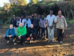 6 days Machame route with trekkinghero