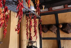 """Chilies in Bhutan are called """"Ema"""" and Bhutanese eat chili like vegetable. Keep this in mind when you try some Bhutanese dishes like the traditional dish Ema Datshi (chili with cheese)."""