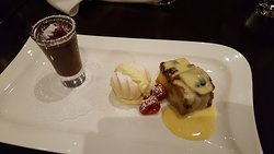 Assiette of desserts - you have to try these.