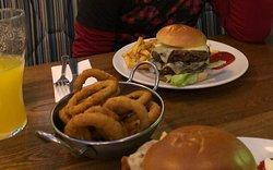 Hamburguesa de ternera y vegetariana