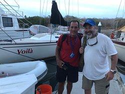 Sailing the Bay of Banderas, ASA 103 course with Captain Rob.