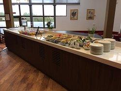Our New Buffet Layout- Retrouve Restaurant.