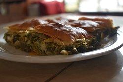 spinach pie-handmade