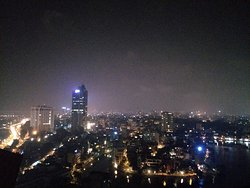 Panaromic view from lounge
