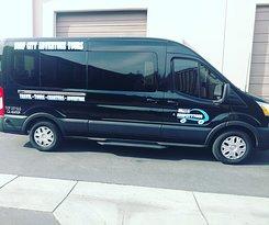 We have new group tour van.