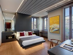 Master Bedroom - Grand Suite - Athens Ikon