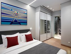 Master Bedrooms - Deluxe Suite - Athens Ikon Hotel