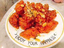 美味的韓式炸雞