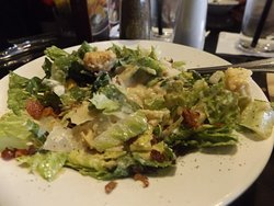 Ceasar salad with extra dressing