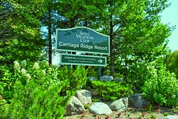 Carriage Ridge Resort entrance from Line 3 North
