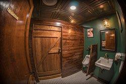 The Bakery & Pickle men's restroom