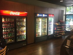 Over 140 different beverage choices.