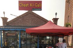 Chaat Ki Gaali - small but beautiful outlet - catering Indian street food.