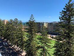 view from Oceanview Apartment - two bedroom apartment located 10th floor at 29 Colley Terrace