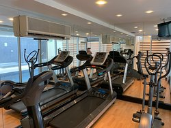 Gym only available to guests staying at Oceanview Apartment - two bedroom apartment located 10th floor at 29 Colley Terrace