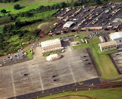 helicopter flight line