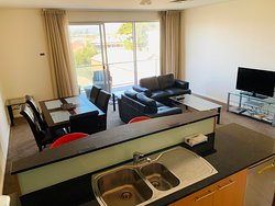 Luxury C16 Apartment - two bedroom - two bathroom apartment located at 16 Colley Terrace, 50 metres north of the Hotel with views to the Adelaide Hills