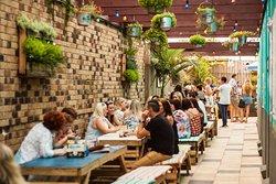 A wonderful space to enjoy a few drinks in the fresh air.