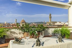 Panoramic Restaurant with view over Florence