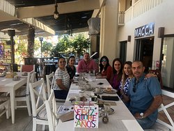 A fun group from Guadalajara at Maccas restaurant