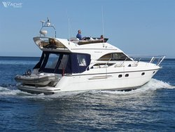 Cool Blue - our luxury Princess 40 motor yacht - available for skippered charter, corporate hospitality and events.