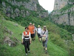 Hiking tour in Karabakh.