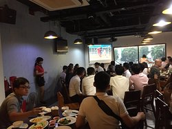 Exciting time with friends and Vietnamese's U23 Football Team
