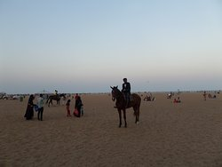 Marina Beach in the Afternoon