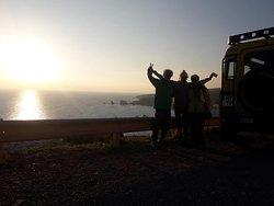 Lander Explorers team - Sunset.