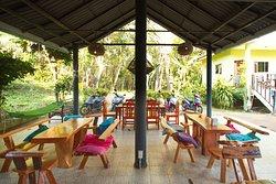 Hall restaurant sea vie resort Koh Mak