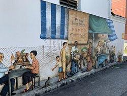 Mural : Tiong Bahru Pasar