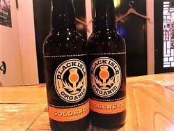 リクエストでペールエールびーるです。 スコットランドの「ブラックアイル」、オーガニックビールということで、これから味わってみます、楽しみ。